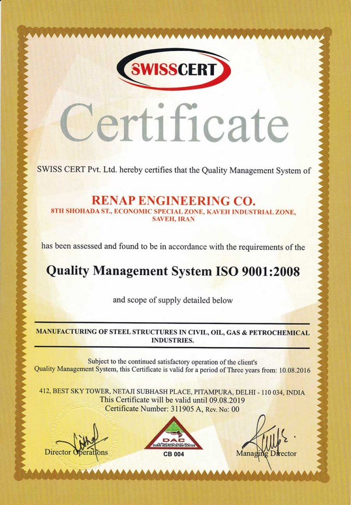 Renap-Certificate