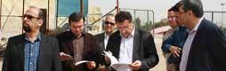 تحویل زمین و آغاز عملیات پروژه ساختمان فرهنگی انقلاب اسلامی و دفاع مقدس قم